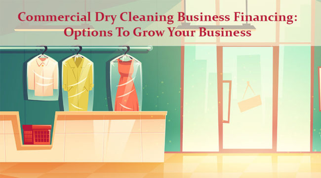 Inside of a Dry Cleaning Business
