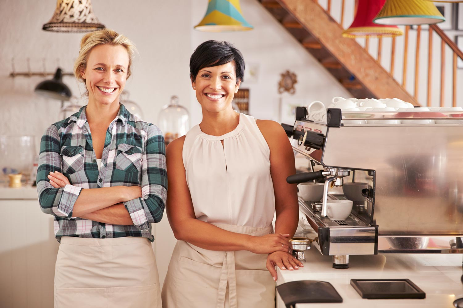 Two female business owners