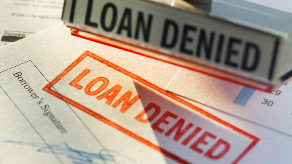 business loan denied