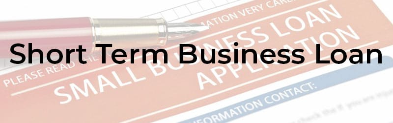 Short Term Business Loan Application