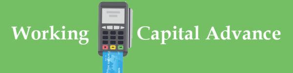 Credit card processor representing a working capital advance