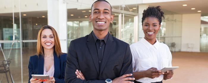 Group of 3 African-American Entrepreneurs