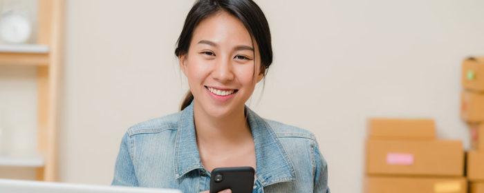 Asian-American woman entrepreneur