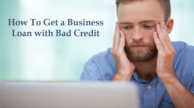 Frustrated business owner wonder how to get a business loan with bad credit