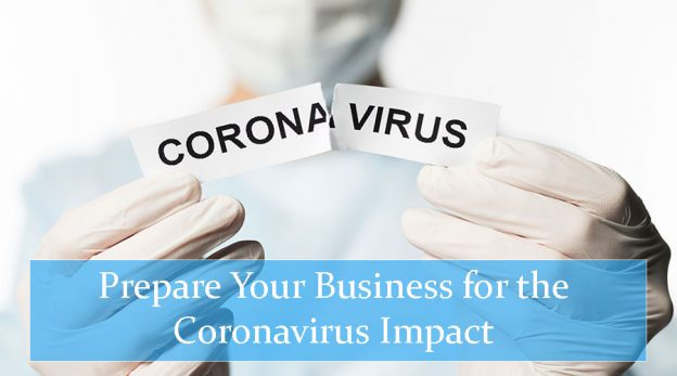 Doctor showing how to prepare your business for coronavirus