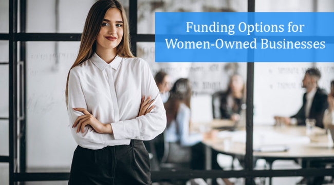 Business woman who received multiple funding options to keep your business running