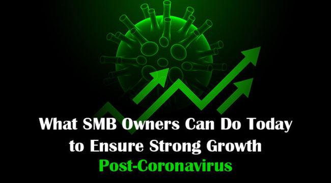 Arrows showing strong growth post coronavirus