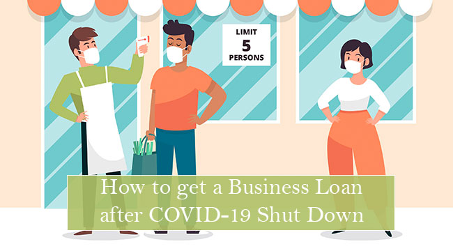 Business owners open after getting a business loan after COVID-19 shut down