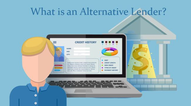 What is an alternative lender graphic